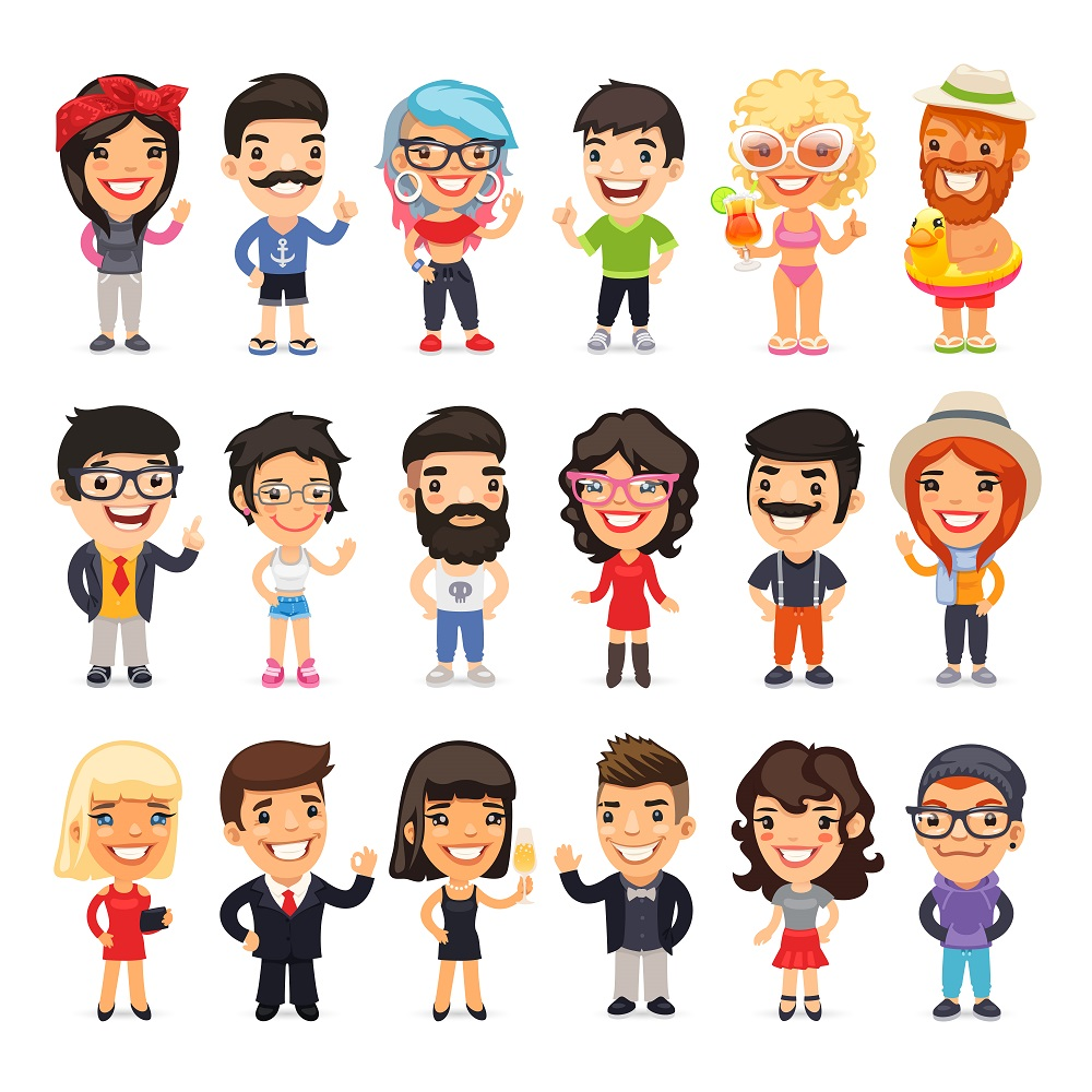 Cartoon Characters Personalities : Response web recruitment personality interview
